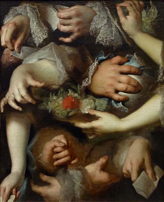 Nicolas de Largillierre, Étude de mains c. 1715