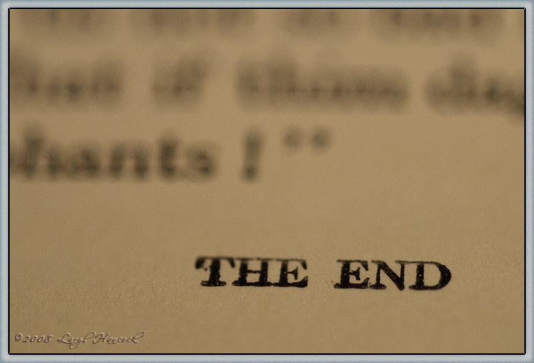 Sept 26 - the end
