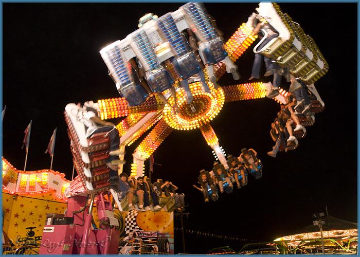 Trenitys 1st *big thrill* ride!