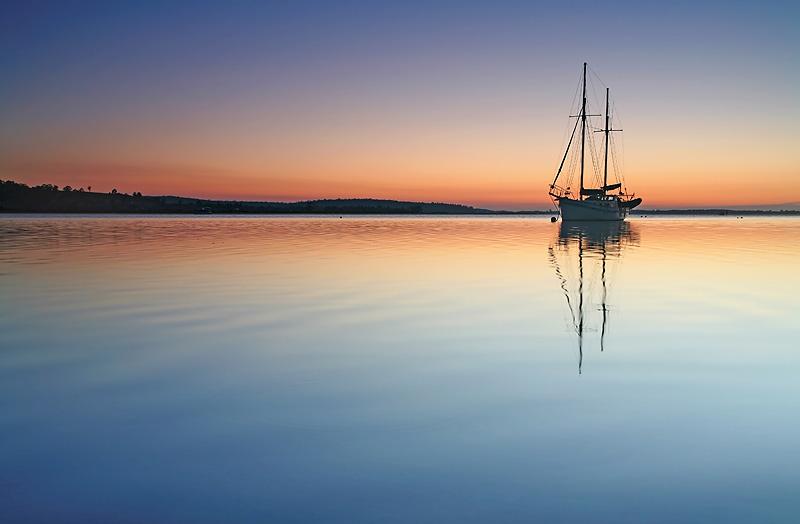 George Bay Sunrise Tasmania Australia.jpg