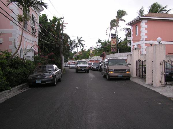 Back streets of Nassau