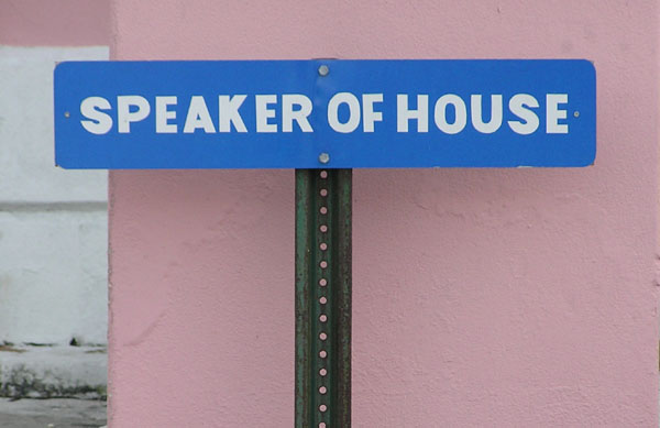 Parking for the Speaker of the House