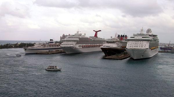 Busy Port of Nassau