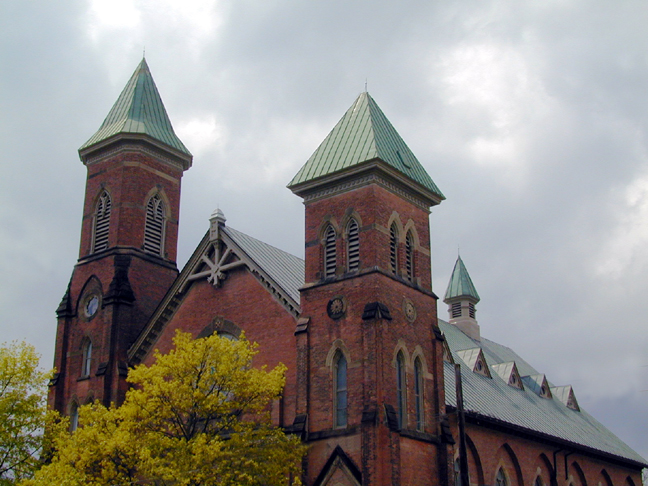 St. Johns... meeting place of Alice Paul...