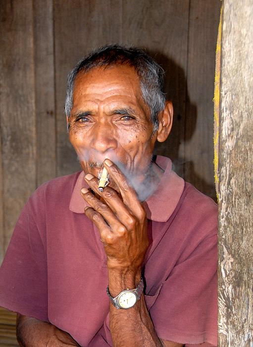 Indonesia  Flores Man Homegrown Smoke