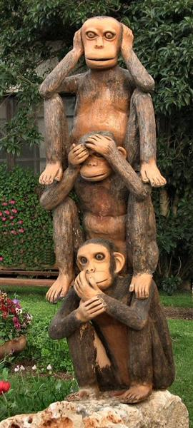 An Unusual Position For The Famous Monkeys.jpg