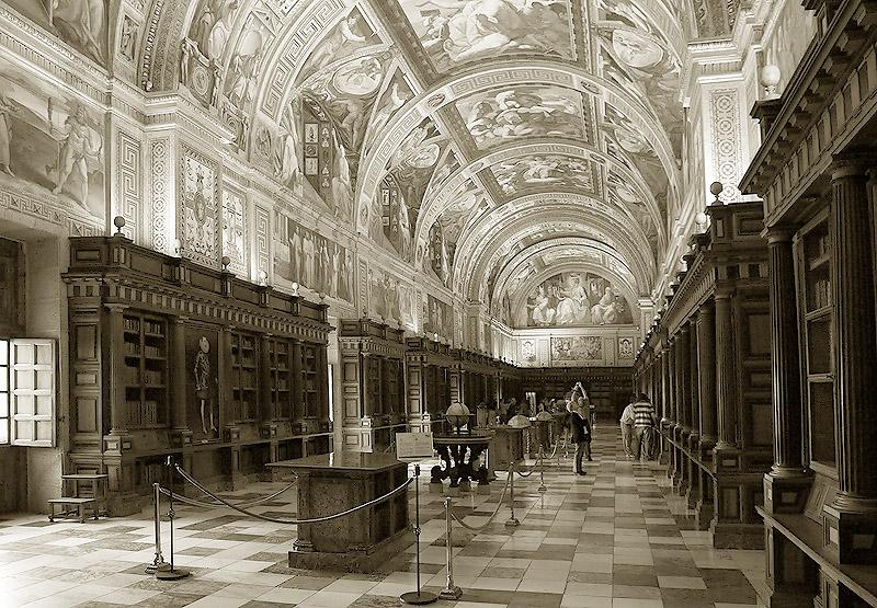 Biblioteca Monasterio de El Escorial (Madrid)