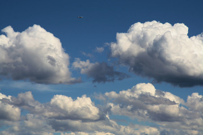 A stranger among clouds....