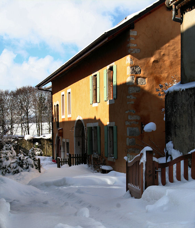 Winter courtyard....