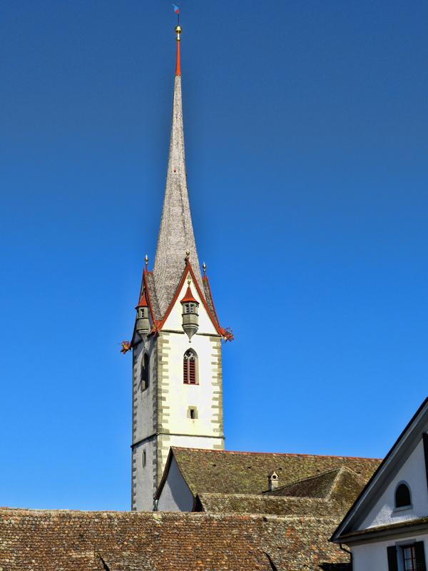We have a proverb in Switzerland «  Il faut remettre l'église au milieu du village »…