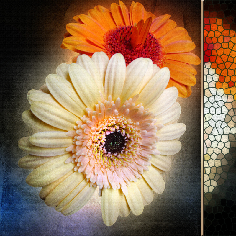 Sacristy flowers...