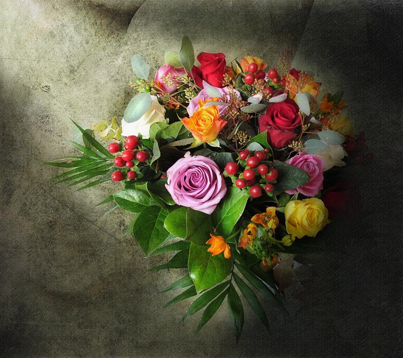 An eclectic bouquet...