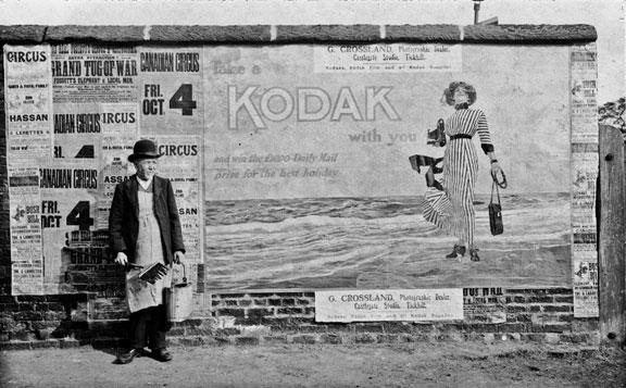 Tickhill-South-Yorkshire-Kodak-Girl-Poster