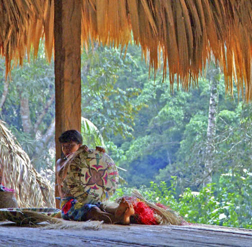 Rio Chagres - Embera Tribe - Thought and Patience