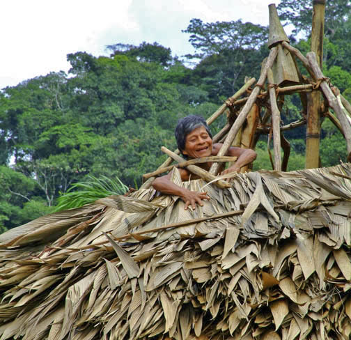 Rio Chagres - Embera Tribe - Happy Roof Repair