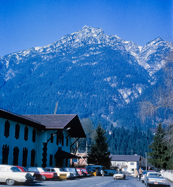 General Patton Hotel at the USAFRC in Garmisch