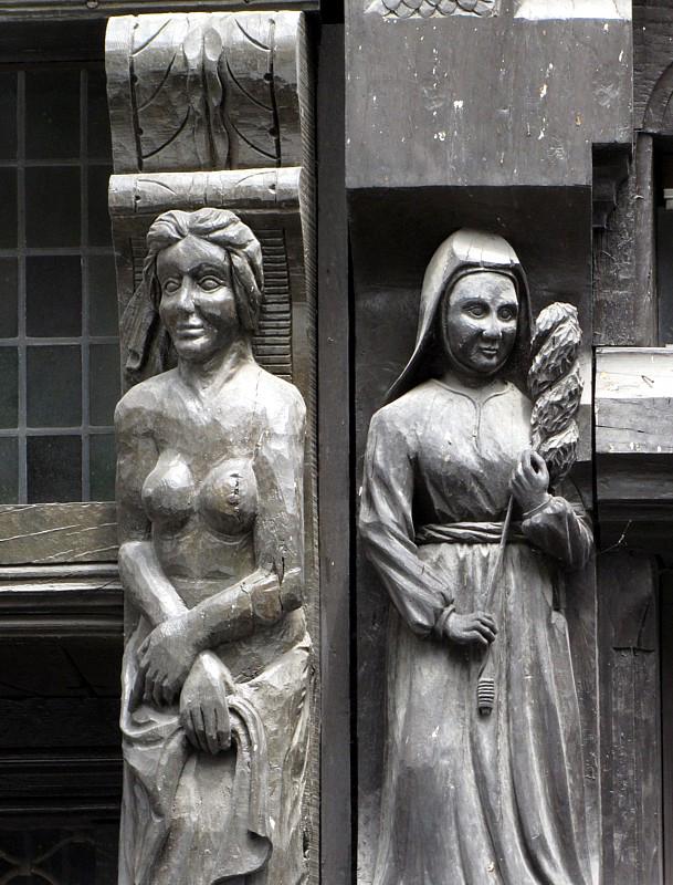 Détail de façade,  Angers