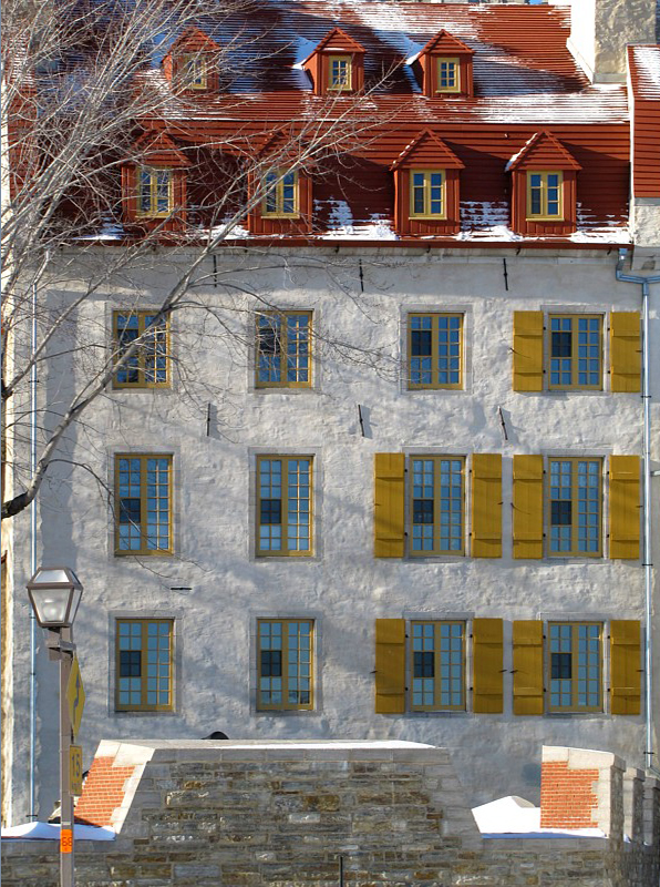 façade en Nouvelle-France
