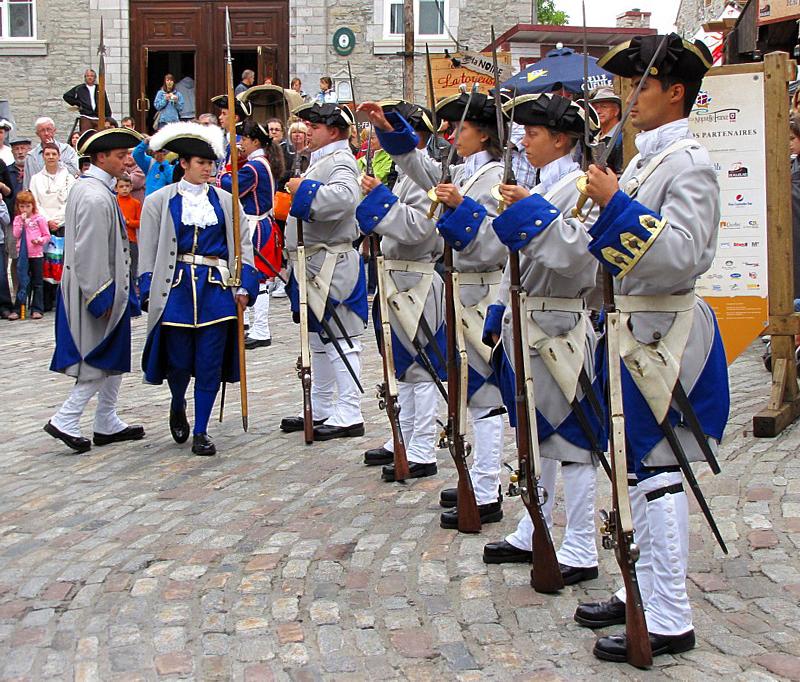 La garde sur Place Royale