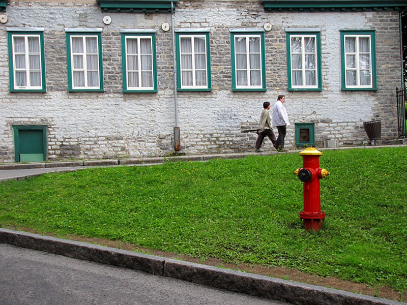 Vieux Québec , dans le quartier anglais