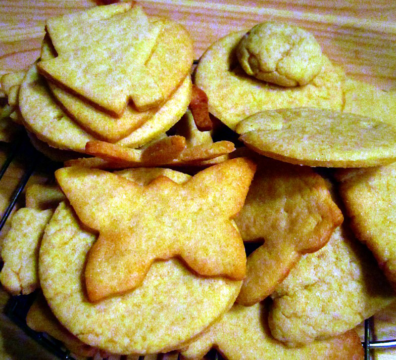 Les biscuits dorés dAdèle