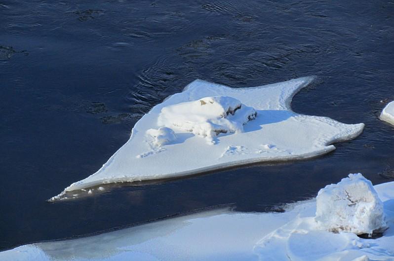 pointe de flèche de glace