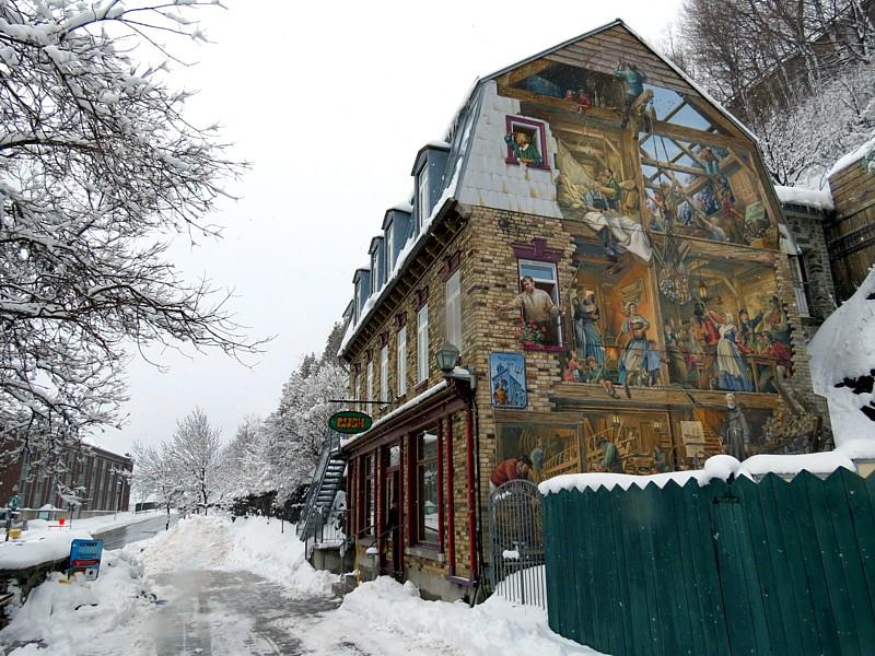 La fresque du bout de la rue