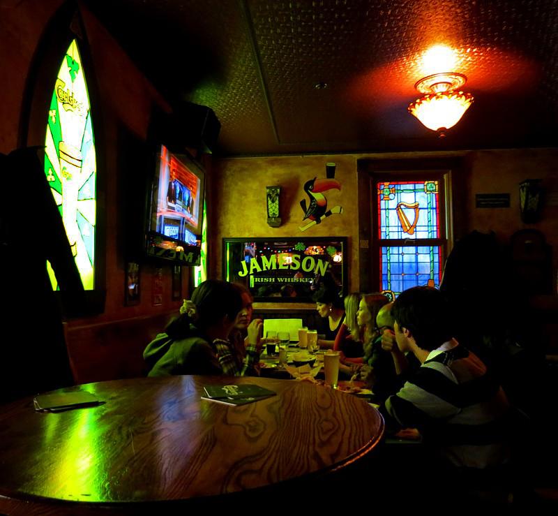 Jameson irish whiskey  au Pub Galway