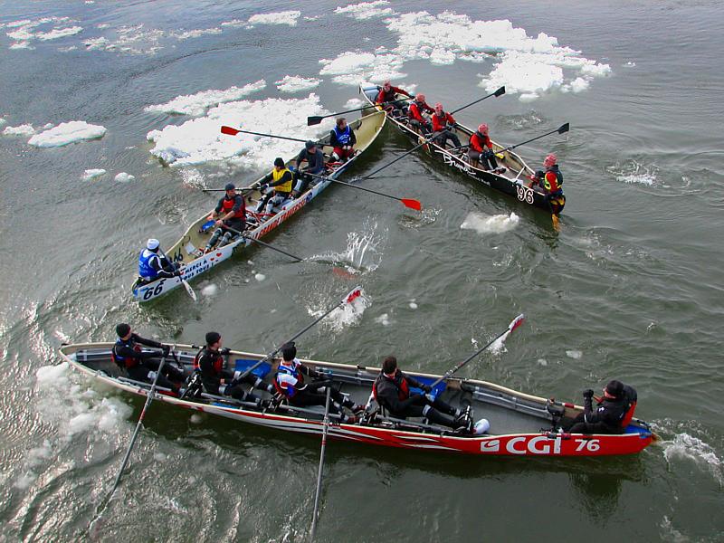 Le grand défi des glaces a eu lieu à Québec le 4 mars 2007