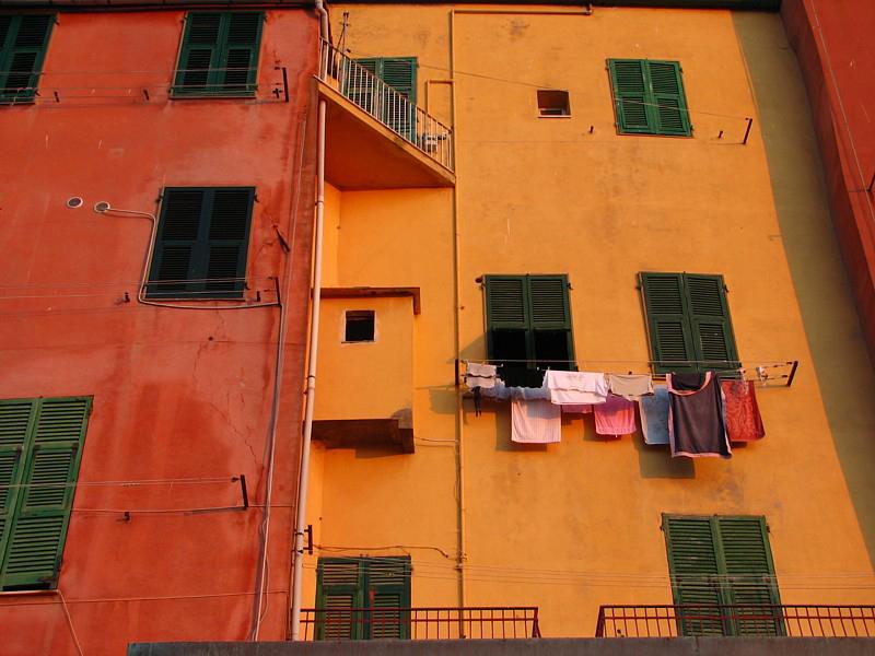 peinture sorbet orange framboise