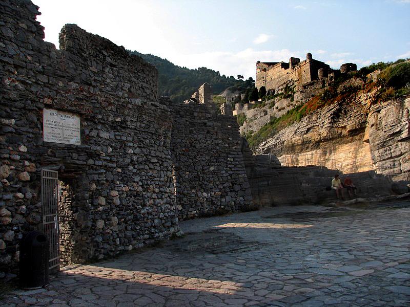 entrée de la grotta Byron
