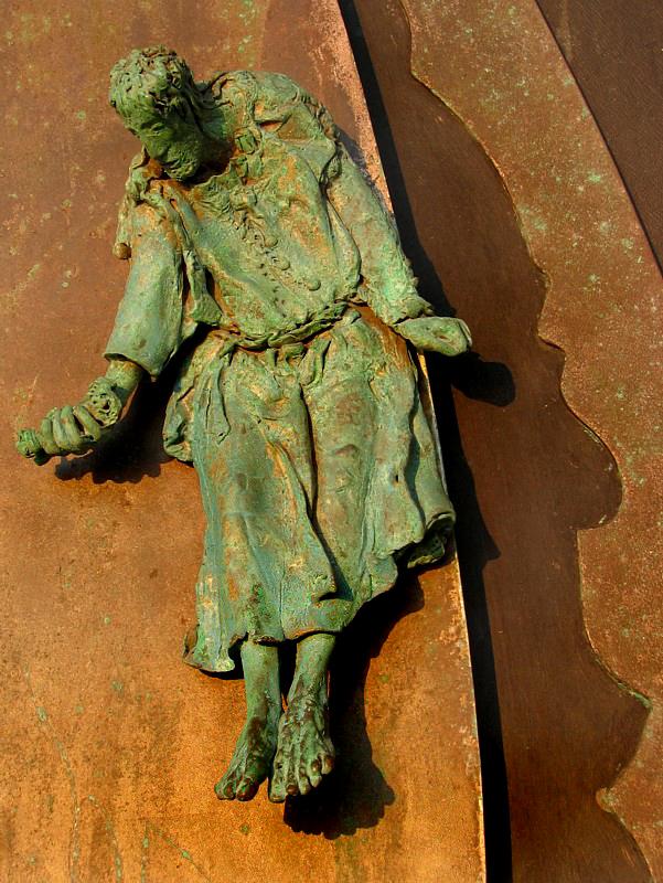 sculpture de porte