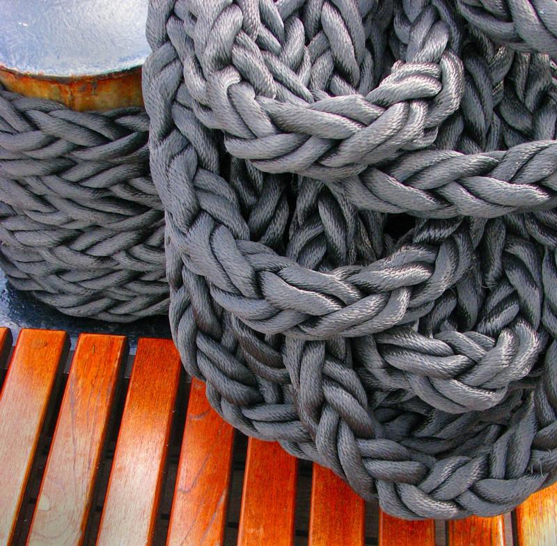 cordage gris