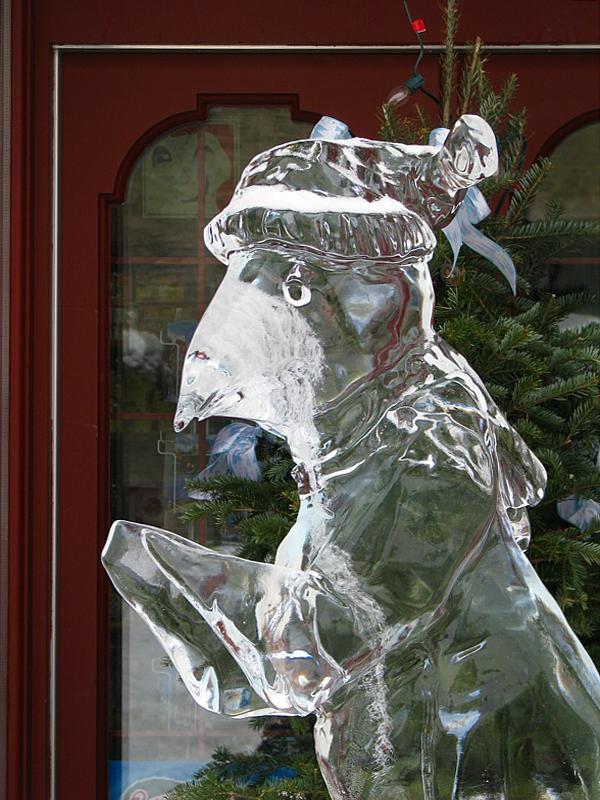 le pingouin de glace