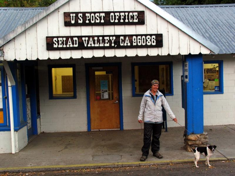 Gail at the Seiad Valley store