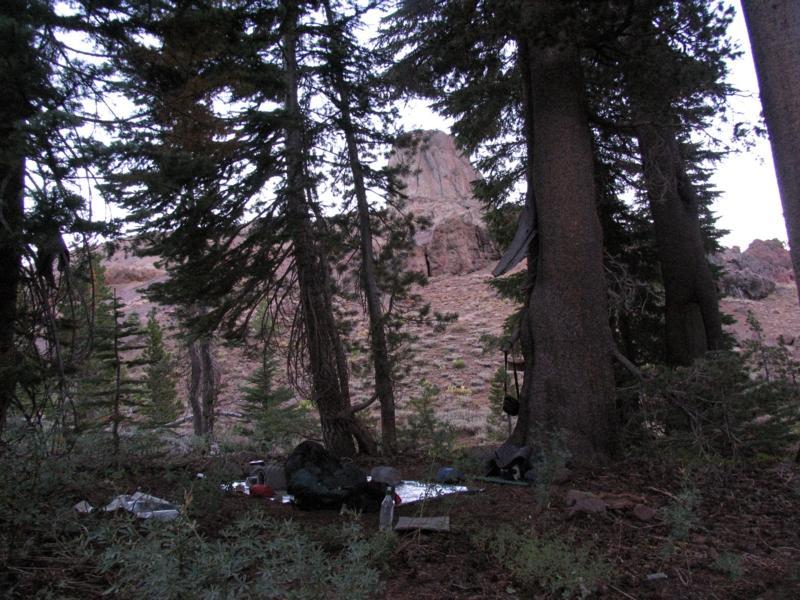 Eagle Creek stealth camp
