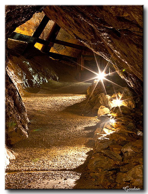 Mine de cuivre à Capelton