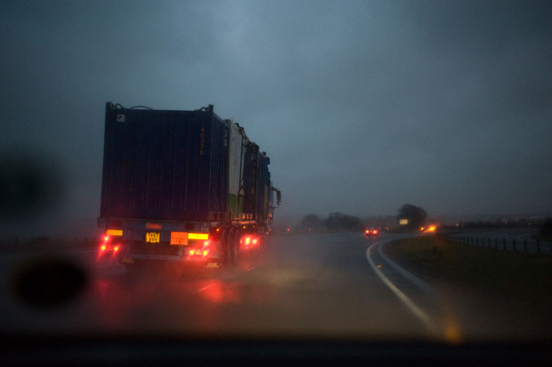 22nd December 2012 <br> driving home for...