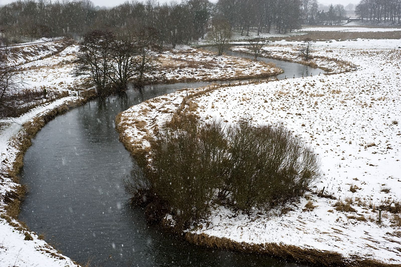19th January 2013 <br> bend in the river