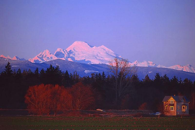 Mt. Baker from Skagit Valley