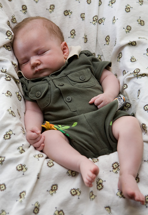 Marcus at 1 month