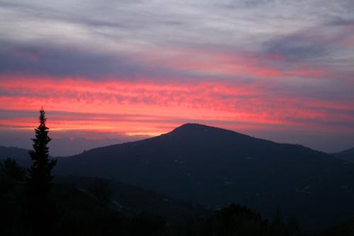 Sunset near Frigliana