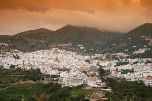 Competa and hills