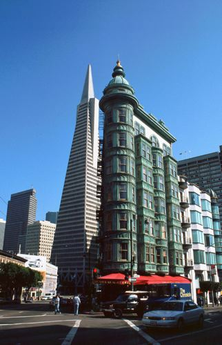 New and Old Buildings, San Francisco