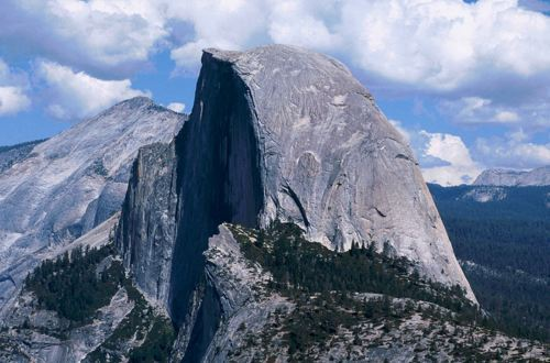 Half Dome Close-up, Yosemite