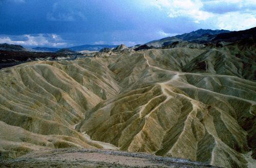 Desert Landscape in Death Valley