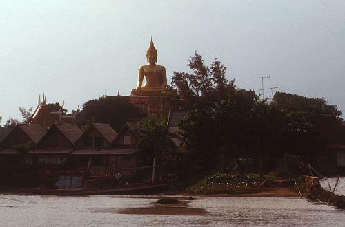 Big Buddha at late afternoon, Ko Samui