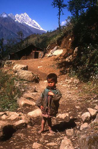 Mountain Boy, Sagarmatha National Park