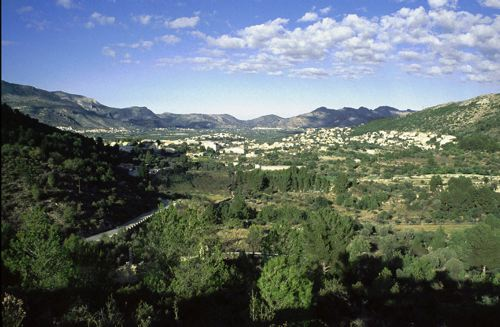 Orba and Surrounding Hills