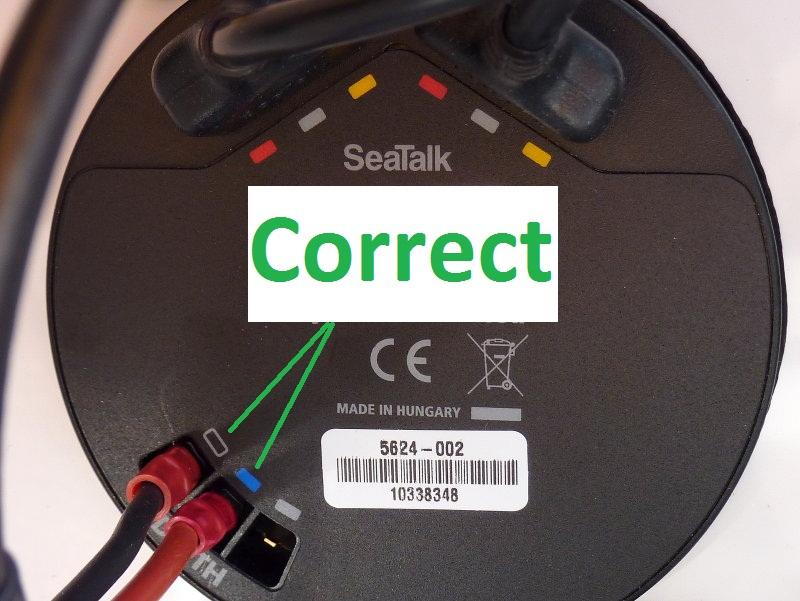 Correct Wiring